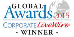 Global Awards Corporate Livewire Winner 2015
