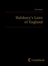 Halsbury's Laws of England, Fifth Edition