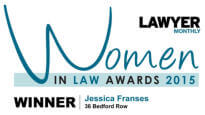 Lawyer Monthly Legal Awards 2015 - Women in Law - Jessica Franses