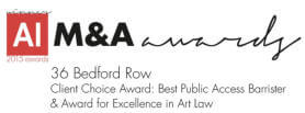 M&A Best Public Access Barrister