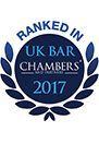 Ranked in Chambers & Partners 2017